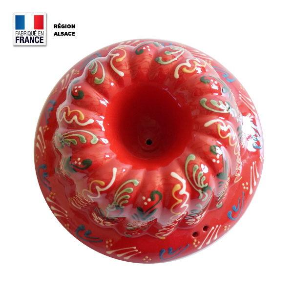 Moule à Kouglof Rouge 24 cm