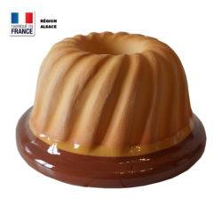 23 cm g/âteau pain Venga amigos Lot de 2 moules /à kouglof en silicone pour kouglof cuisine p/âtisserie