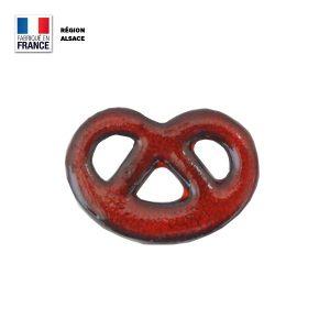 Magnet en forme de Bretzel alsacien