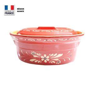 Terrine Baeckeoffe Rouge Fleur